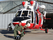 The air transportation base at Prague - Kbely has a certified display pilot of the W-3A Sokol helicopter. He will present his skills at an airshow