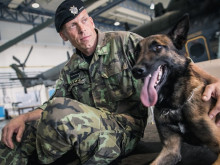 Military policeman Pavel Petr is the best military working dog handler