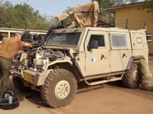 High Temperatures and Dust Destroy the Equipment in Mali. Military Mechanics from Klatovy Know How to Fix It.