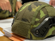 The Army Received the First Delivery of New Helmets for our Soldiers