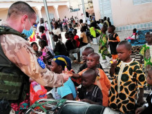 Czech Soldiers in Mali Helped a Local Orphanage