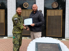 Ordnance specialist from Bechyně became the best student on a prestigious course in the USA
