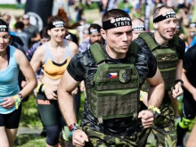 Active Reserves members at Spartan Race in order to train their physical condition