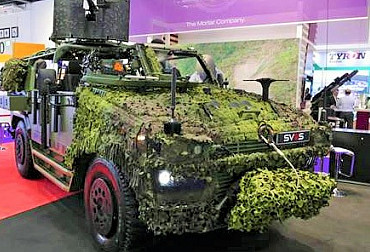 PERUN vehicle with many innovations met a significant interest at DSEI in London