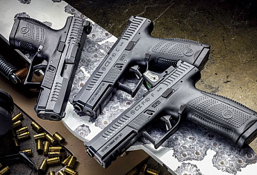 The new model of the Czech CZ P-10 S pistol or the size matters
