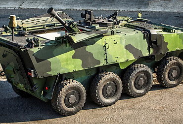 Options of New Self-propelled Wheel Mortars for the ACR