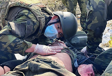 Medical Staff from Strakonice Embark on Training under Fire Immediately upon Return from the Borders