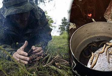 Soldiers trained how to survive in extreme conditions