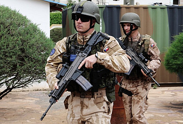 The Czech Army Took Over the Command of the EUTM Mission in Mali Today