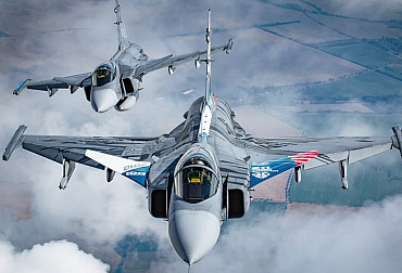 Czech fleet of Gripen fighters flies over 2,000 hours a year