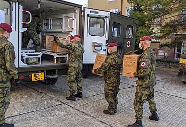 Soldiers Will Build a Backup Hospital in Letňany. Těchonín is not Part of the Plan yet