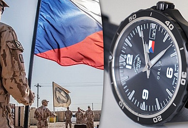 A unique PRIM watch to be auctioned to raise money for Czech soldiers and war veterans