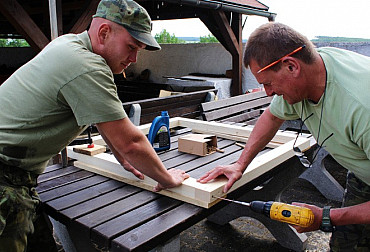 Army Carpenters: Can Make Practically Anything Anywhere in the World