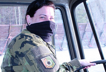 From Sicily to the Polar Circle: Sergeant Radostová Drove Across the Whole of Europe with a Truck