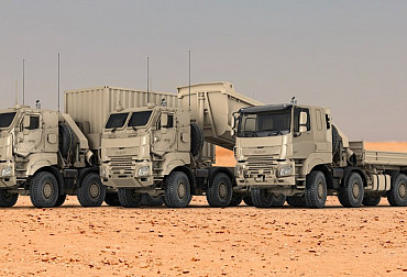 DAF will supply the Belgian Armed Forces with military vehicles on the Tatra chassis