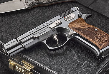 CZ 75 TOBRUK limited edition pistols
