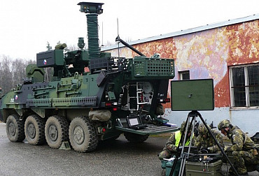 Possibilities of wheeled artillery reconnaissance in the Czech Army