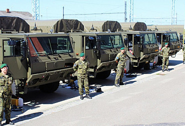 The Army will receive new specially modified Tatras for the transport of RBS-70NG