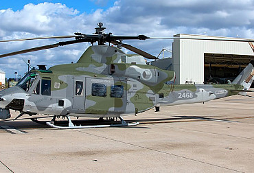 The new Venom and Viper helicopters for the Czech Army will get a camouflage from the VHU workshop